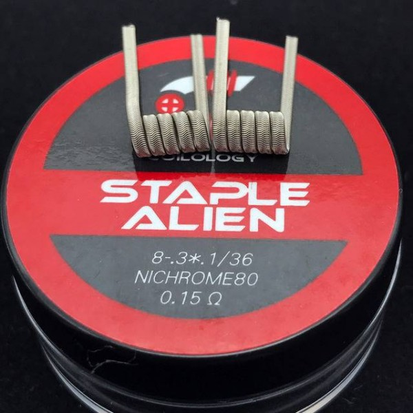 Staple Alien Coil by Coilology (NiCr 80)