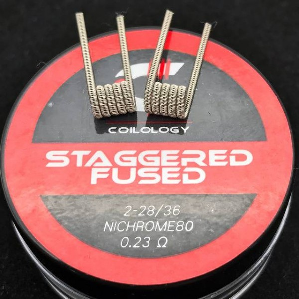 Coilology - Staggered Fused Clapton (NiCr80)