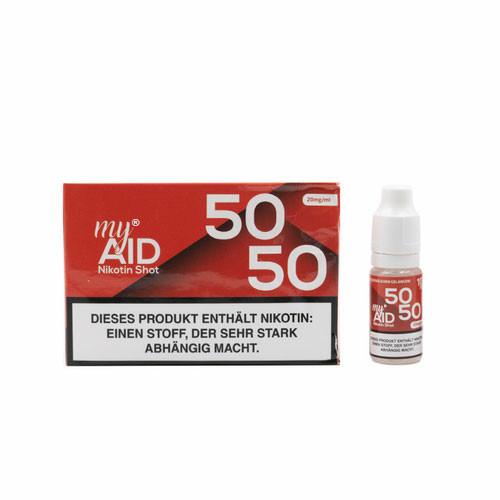 My Aid - 50/50 20mg Nic-Shot 10ml 5er Pack