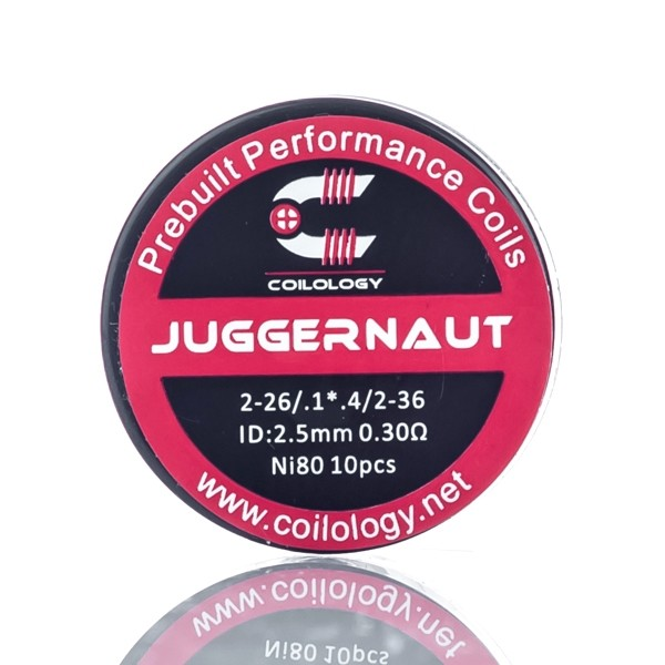 Juggernaut Wire By Coilology Ni80 2-28/.1x.3/2-36