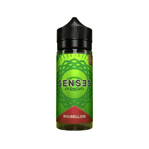 Six Licks Senses - Rhubellion 100ml