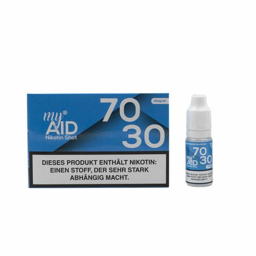 My Aid - 70/30 20mg Nic-Shot 10ml 5er Pack