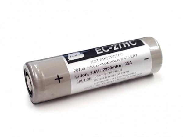 Enercig - 20700 2950mAh 3,6V - 3,7V EC-27HC basierend auf Molicel